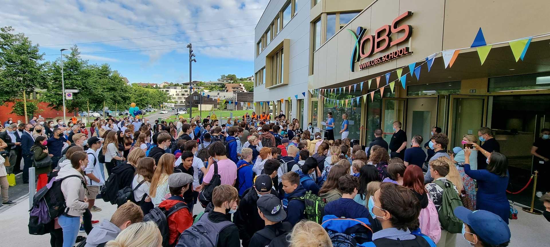 Eröffnung des neuen Campus der OBS Privatschule